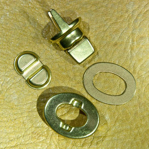 COACH Solid-Brass-Replacement - 4-PC -Turnlock-NEW